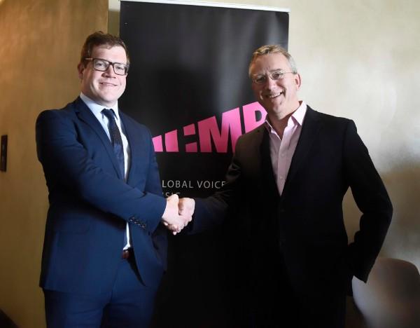 John Phelan & Chris Butler, Credit © ICMP